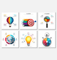 startup research creative infographics vector image vector image