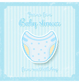 boy baby shower vector image