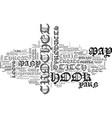 beginner crochet text word cloud concept vector image vector image