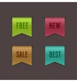 Free new sale best ribbons vector | Price: 1 Credit (USD $1)