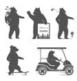 Fun Bear vector image vector image