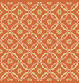 seamless pattern golden theme vector image vector image