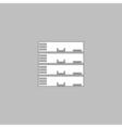 Server computer symbol vector image