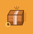 box icon set of great flat icons use for vector image vector image