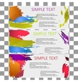 bright set of banners modern universal vector image vector image