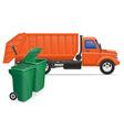 cargo truck concept 13 vector image vector image