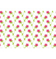fowers on white background seamless background vector image vector image