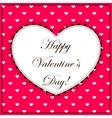 Happy Valentine day vector image vector image