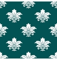 Damask style repeat arabesque pattern vector image vector image
