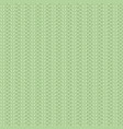 knit light green pattern vector image vector image