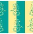 original floral seamless vector image vector image