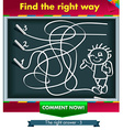 Visual Game for Children vector image vector image