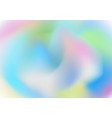 abstract colorful soft wavy gradient pastel vector image vector image