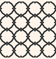 black and white ornamental seamless pattern vector image
