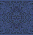 blue tiles in the style of sentangle seamless vector image vector image