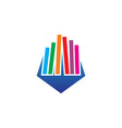 book education sign logo vector image
