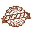 california round ribbon seal vector image vector image