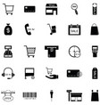 commerce icon set vector image vector image