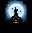 Grungy Halloween Card vector image vector image