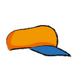 sport cap fashion trendy accessory icon vector image vector image