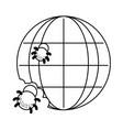technology computing cartoon vector image