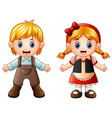 children story hansel and gretel vector image vector image