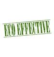 eco effective vector image vector image