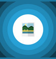 isolated pictures flat icon reminders vector image