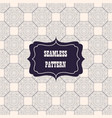 seamless pattern decorative design vector image vector image
