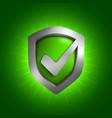 Security shield symbol vector image