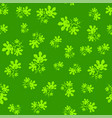 summer leaves seamless pattern vector image vector image