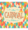 Carnival funfair background vector image