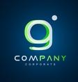 Alphabet g letter logo icon design vector image vector image