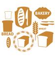 Bakery Bread Wheat vector image vector image