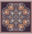 ethnic abstract flower vector image