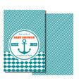 Nautical bashower card sea theme baparty