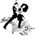 Salsa Music vector image vector image