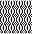 Abstract wavy seamless pattern vector image