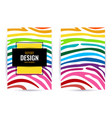 bright colourful vertical abstract background vector image vector image