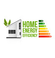 creative of home energy vector image vector image