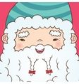 Cute Cartoon Chinese Santa Claus vector image