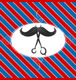 design barber shop vector image