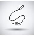 Dog lead icon vector image vector image