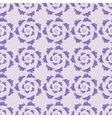 geometric seamless ornament lavender palette vector image vector image