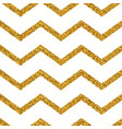 gold glitter seamless pattern vector image vector image