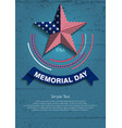 memorial day7 vector image vector image
