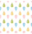 baby seamless bottle pattern vector image vector image