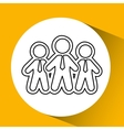 business teamwork people vector image vector image