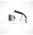 camera and photo cards vector image vector image