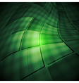 Dark tech abstract background vector image vector image